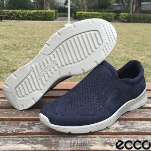 ECCO 爱步 IRVING 欧文系列 打孔版 一脚套 男式休闲鞋 ¥398起 中亚Prime会员免运费直邮到手约¥450