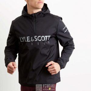 Lyle & Scott 苏格兰金鹰 防水透气男式运动夹克 M码2.8折¥245 中亚Prime会员免运费直邮到手约¥271