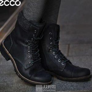 ECCO 爱步 Elaine伊莲系列 HYDROMAX防泼水 女式工装靴 36码¥332 中亚Prime会员免运费直邮到手约¥367