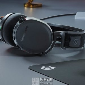 SteelSeries 赛睿 Arctis 7 寒冰7 2019版 7.1声道 无线游戏耳机带麦 7.9折$118.87 海淘转运到手约¥864