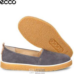 ECCO 爱步 Crepetray 酷锐 一脚套女式休闲鞋 37码3.4折$47.44 海淘转运到手约¥417 中亚Prime会员免运费直邮到手约¥365