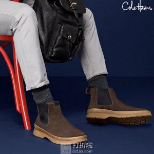 Cole Haan 可汗 Pinch Utility 防水 男式切尔西短靴 42码3.1折$61.15 海淘转运到手约¥513 中亚Prime会员可免运费直邮到手约¥515
