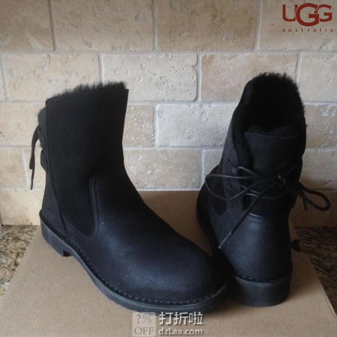 Angelababy代言 UGG Naiyah 经典卓思登系列 奈娅 防水防污女式雪地靴 短靴 5.5码3.2折$56.66 海淘转运到手约¥510