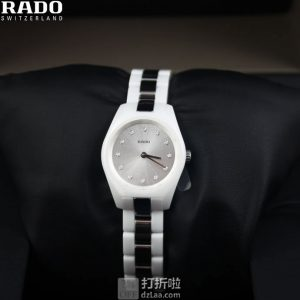 Rado 雷达表 Specchio系列 陶瓷镶钻 女式手表 R31509712 优惠码折后0.8折$188史低 海淘关税补贴到手约¥1452