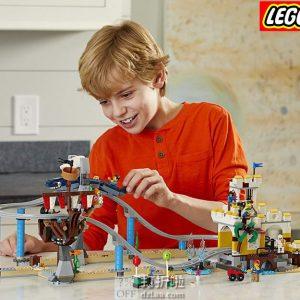 LEGO 乐高 Creator 创意百变系列 31084 海盗过山车 积木玩具 6.4折$57.99史低 海淘转运到手约¥526
