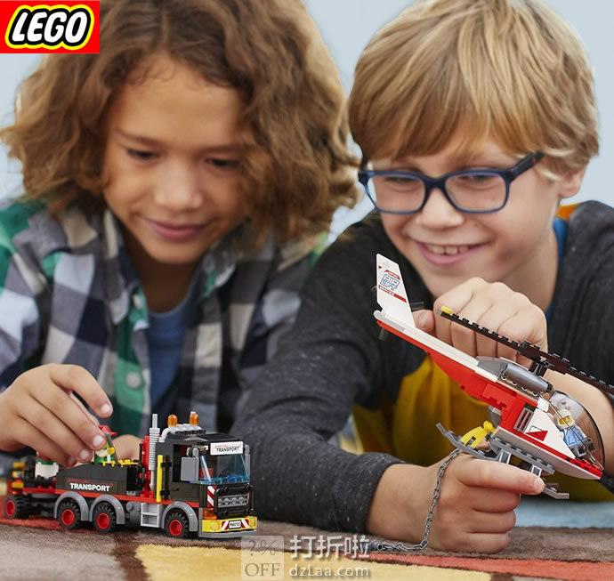 LEGO 乐高 60183 城市系列 重型直升机运输车 积木玩具 6折$17.99史低 海淘转运到手约¥165