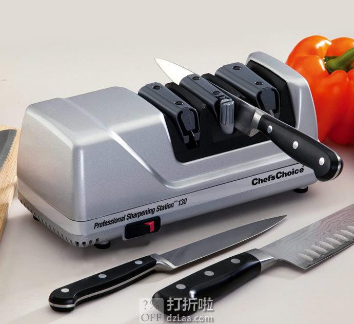 金盒特价 Chef'sChoice 130 三段式专业电动磨刀器 4.4折$79.99 海淘转运到手约¥689