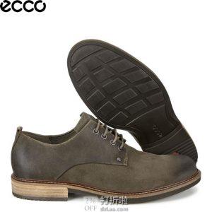 ECCO 爱步 Kenton 男式德比鞋 41码2.7折$54.04 海淘转运到手约¥471