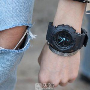 Casio 卡西欧 G-Shock系列 GA-100C-8AER 双显 男式运动手表 中亚Prime会员免运费直邮到手约¥520