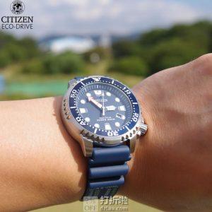 Citizen 西铁城 BN0151-17L 光动能 男式潜水表 ¥1044 中亚Prime会员免运费直邮到手约¥1130