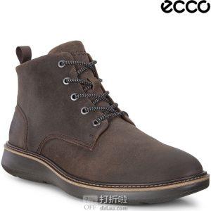 ECCO 爱步 Aurora Mid 极光 男式中帮系带短靴 41码¥560