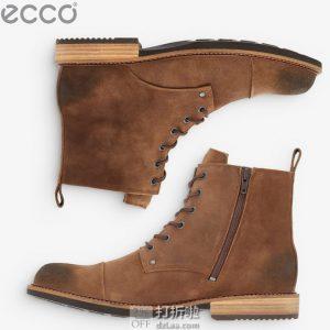 ECCO 爱步 Kenton 男式复古短靴 40码2折 $46.53 海淘转运到手约¥414