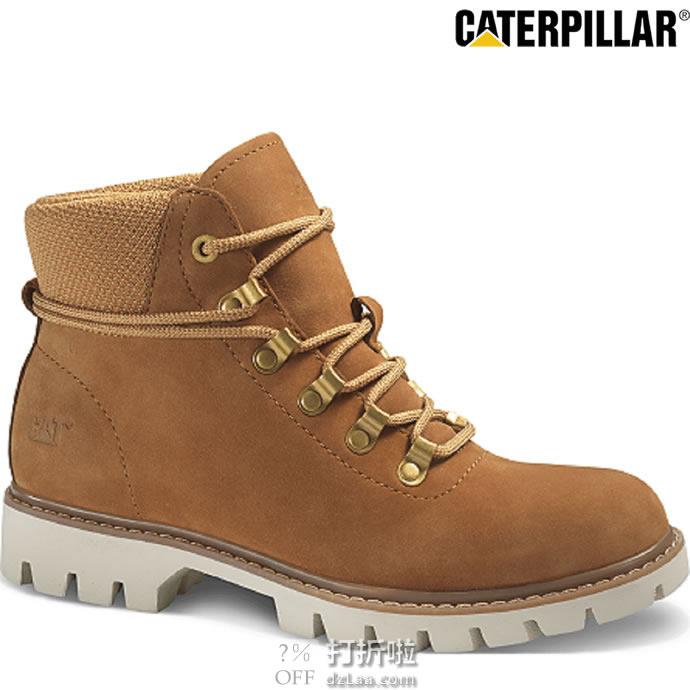 限尺码 Caterpillar 卡特彼勒 Handshake 女式工装靴 短靴 ¥239