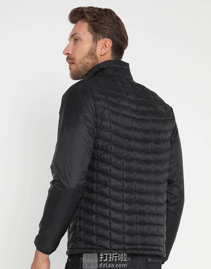 The North Face 北面 ThermoBall 修身款 便携可压缩 户外男式保暖棉服 ¥301起 3色可选