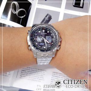 Citizen 西铁城 Promaster Sky系列 JZ1061-57E 光动能 男式手表 镇店之宝¥1356