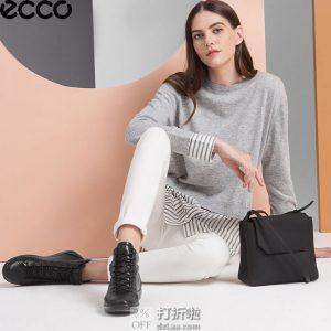 ECCO 爱步 Soft 2.0 柔酷2号 女式系带高帮休闲鞋 38码¥492 天猫¥1449