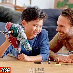 LEGO 乐高 4月新品 星球大战系列 75243 20周年纪念版 赏金猎人飞船 积木玩具 优惠码折后£82.99 海淘免运费直邮到手约¥729
