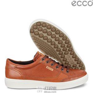 ECCO SOFT 7 爱步 柔酷7 男式休闲板鞋 镇店之宝¥507 多色多码可选