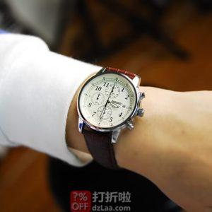 SEIKO 精工 SNDC31 三眼计时 男式石英手表 ¥693