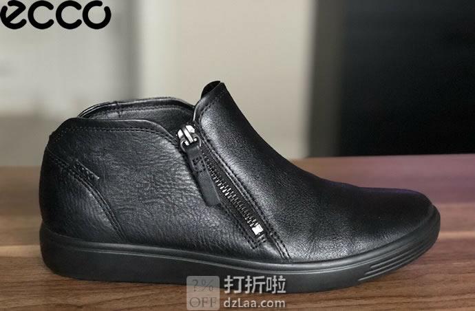 ECCO 爱步 SOFT 7 柔酷7号 侧拉链 女式休闲鞋 37码¥503