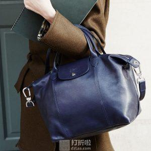 LONGCHAMP 珑骧 羊皮 中号短柄女式手提包 下单5折后¥1754.5闪购