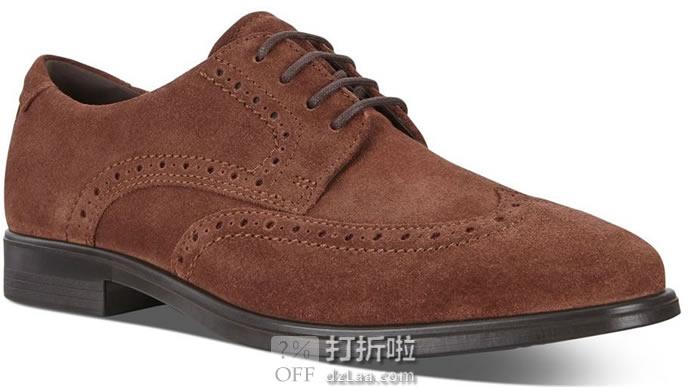 ECCO 爱步 Melbourne 墨本系列 布洛克风格 男式系带正装鞋 德比鞋 ¥506起 多色多码可选