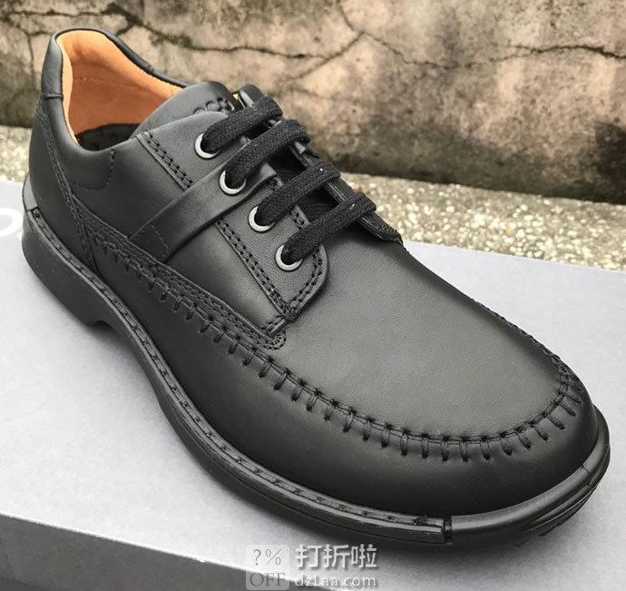 ECCO 爱步 Fusion融合系列 男式系带休闲鞋 镇店之宝 43码¥441
