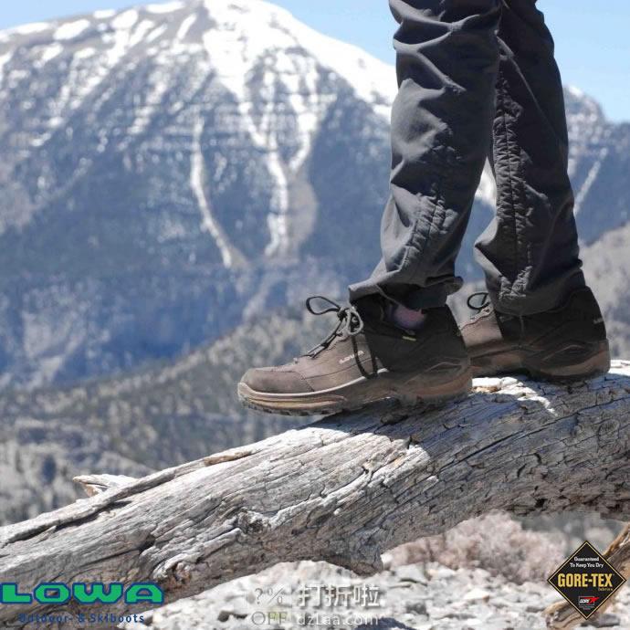 LOWA Renegade GTX Lo 经典款 户外女式防水徒步鞋 4.6折$95.99 海淘转运到手约¥773