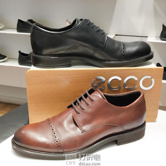 限尺码 ECCO 爱步 Vitrus III 唯图系列 雕花版 男式牛津鞋 正装鞋 ¥369 天猫¥1849
