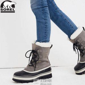 Sorel 北极熊 Caribou 女式防水保暖雪地靴 39码¥583