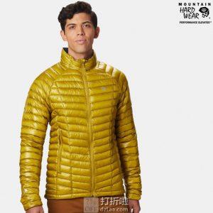 获奖产品 Mountain Hardwear 山浩 Ghost Whisperer 鬼语者 800蓬 超轻户外男式羽绒服 优惠码折后$179.34 两色可选 海淘转运到手约¥1301