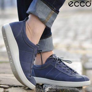 ECCO 爱步 Soft 1 柔酷1号 女式系带休闲板鞋 36码¥386