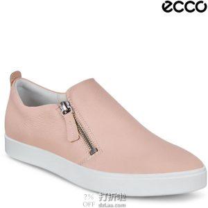ECCO 爱步 Gillian 吉莉系列 侧拉链版 女式一脚套休闲鞋 2.6折$37.14起 海淘转运到手约¥353