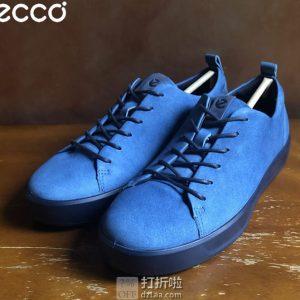 断码白菜 ECCO 爱步 Soft 8 柔酷8号 运动休闲系带女鞋 1.9折$32.5 海淘转运到手约¥320