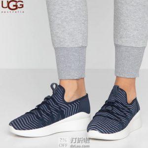 UGG 19年款 Kinney Metallic 女式板鞋 2.6折$31.26起 海淘转运到手约¥312