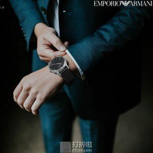 Emporio Armani 阿玛尼 AR1692 男式手表 5折$87.33 海淘转运关税补贴到手约¥761