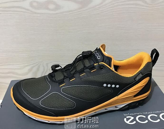 ECCO 爱步 探险系列 BIOM GTX防水 男式户外运动休闲鞋 41码4.5折$84.9 海淘转运到手约¥696
