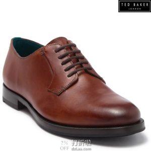 Ted Baker 泰德贝克 Silice 男式德比鞋 牛津鞋 40码1.8折$45.06 海淘转运到手约¥411