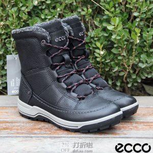 限尺码 ECCO 爱步 Trace Lite 防水保暖 女式雪地靴 4.4折$88.09 海淘转运到手约¥701