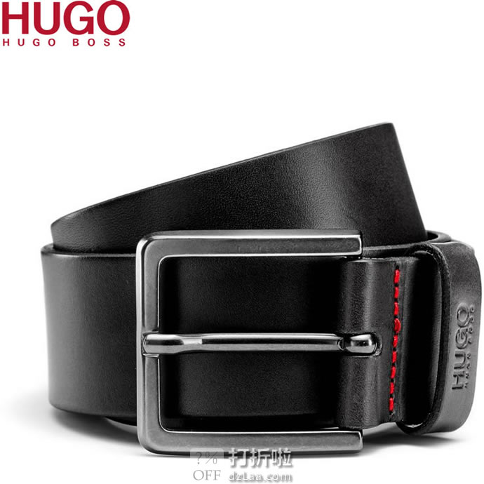 Hugo Hugo Boss 雨果博斯 Gionio 男式皮带 镇店之宝¥215.07起