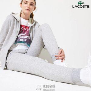 Lacoste 法国鳄鱼 女式运动裤 4码4.3折$42.23 海淘转运到手约¥346