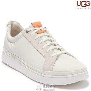 大脚福利 UGG Cali Low Mlt 男式低帮系带休闲鞋 2.5折$25.11 海淘转运到手约¥269