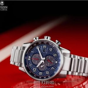 CITIZEN 西铁城 CA0680-57L 三眼计时 男式光动能手表 ¥978