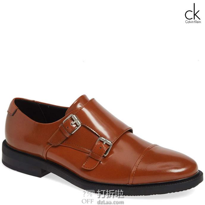 Calvin Klein 卡尔文克莱因 Candon CK 男式孟克鞋 4.8折.49 海淘转运到手约¥572 部分鞋码中亚Prime会员免运费直邮到手约¥534