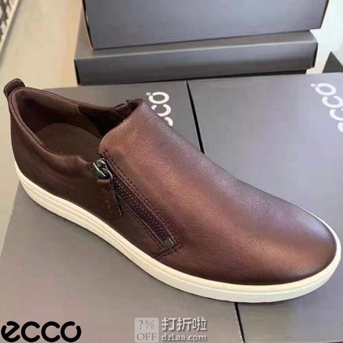 断码白菜 ECCO 爱步 Fara 法拉系列 拉链款 一脚套 女式休闲鞋 2.3折$29.95 三色可选 海淘转运到手约¥304