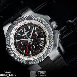 Breitling 百年灵 Bentley 宾利系列 EB043335-BD78-232S 男士机械手表 优惠码折后$4300史低 海淘转运关税补贴+保价到手约¥31440