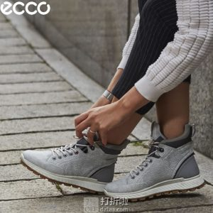 ECCO  爱步 Exostrike 突破系列 Hydromax 防泼水 女式户外短靴 38码¥674