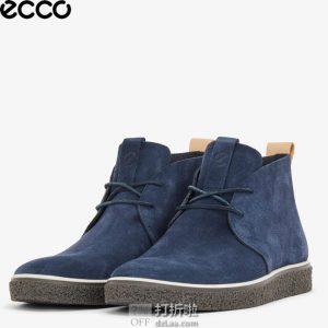 限尺码 ECCO 爱步 Crepetray 男式短靴 2.9折$52.51 海淘转运到手约¥461