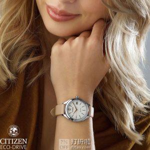 Citizen 西铁城 LTR 光动能女式手表 FE6140-03A 3.4折$58.98史低 海淘转运关税补贴到手约¥542
