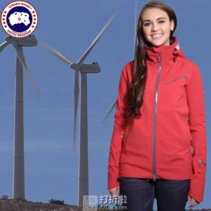 Canada Goose 加拿大鹅 Timber Shell 户外连帽 女式冲锋衣 4.2折 优惠码折后$287.99 两色可选 海淘转运到手约¥2101